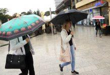 kiša Čakovec kišobran