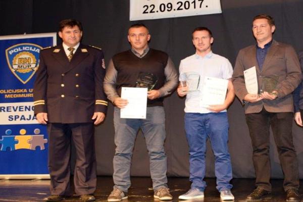 Nagrađeni međimurski policajci