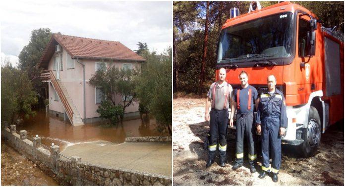 Međimurski vatrogasci poplava Ugljan