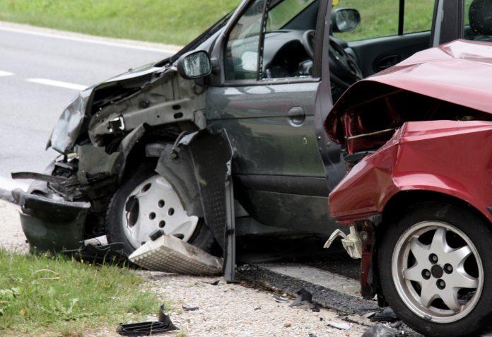 prometna nesreća sudar