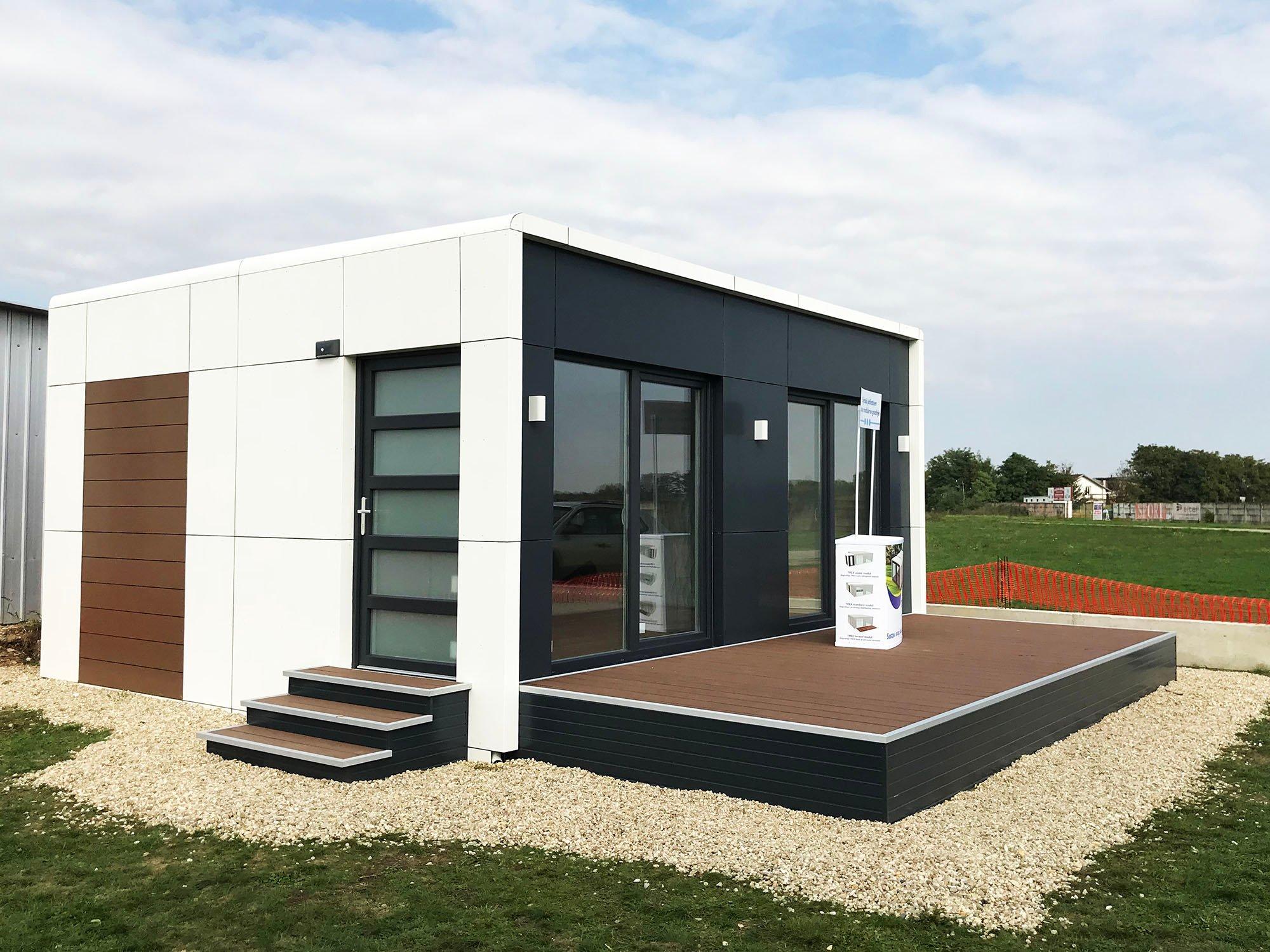 do ite na dane otvorenih vrata trex living system modularnih ku a. Black Bedroom Furniture Sets. Home Design Ideas