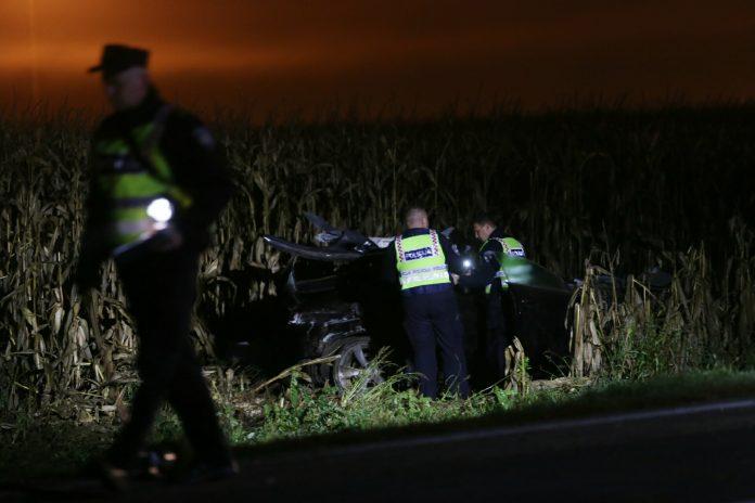 Prometna nesreća Sveti Križ poginuo