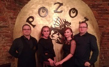 Tihomir Barbaš, Valentina Baksa, Jasmina Marčec i Mario Marčec, vlasnici restorana Pozoj