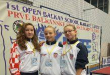 Karate centar Šenkovec prvenstvo Balkana za škole