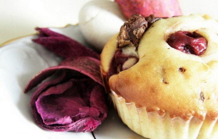Muffinsi od čokolade i višanja