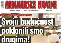 Međimurske novine - Naslovnica