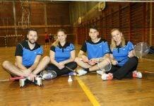 Obitelj Zadravec zaljubljenici u badminton