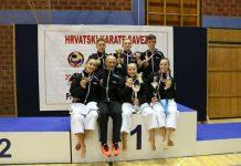 Karate centar Šenkovec prvenstvu Hrvatske