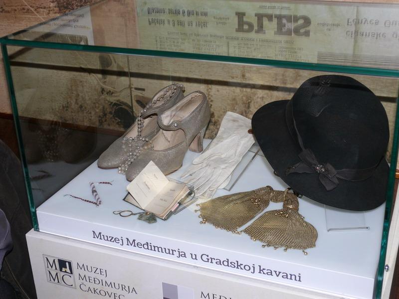 muzejska kutija u kavani Čakovec