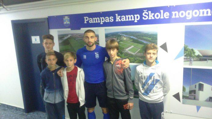Mladi međimurski nogometaši NK Osijek