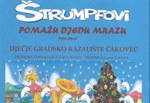 Predstava Strumpfovi pomazu Djedu Mrazu
