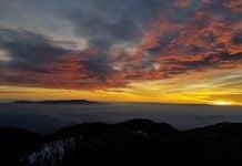 Zalazak sunca Ivanščica