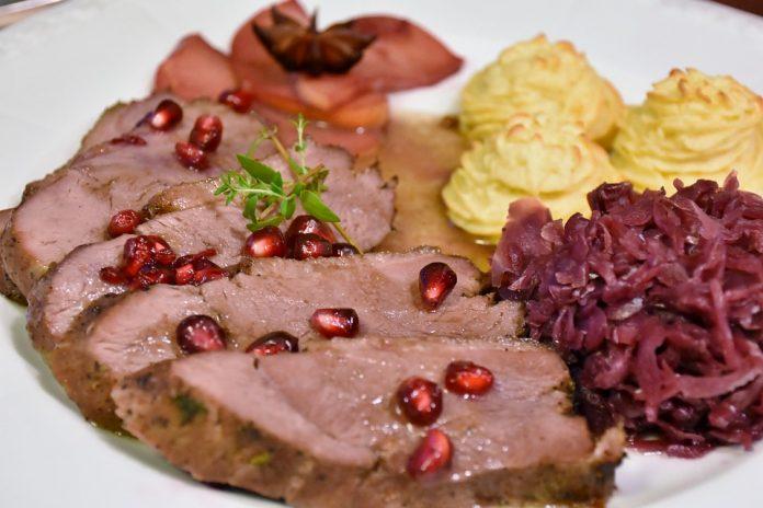 hrana meso jelo gozba
