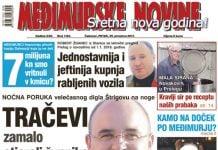 Međimurske novine - naslovnica br. 1163