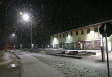 Prvi snijeg u Međimurju
