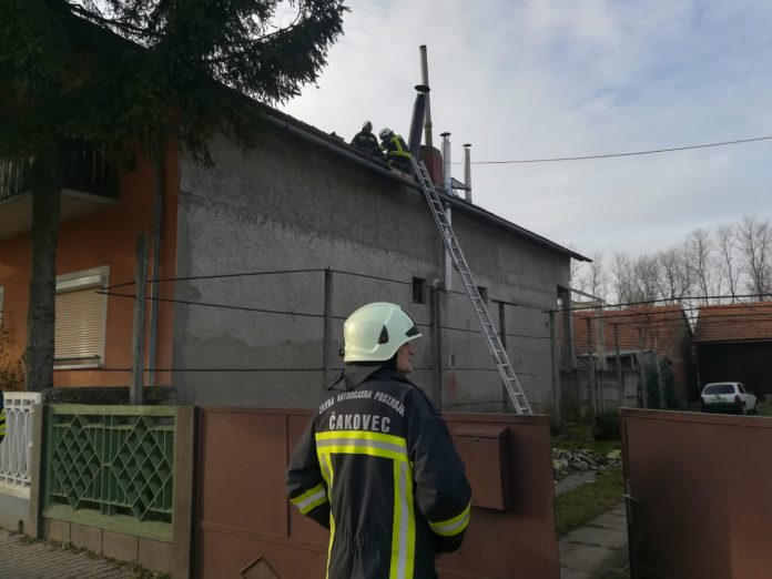 Požar krovišta Pribislavec