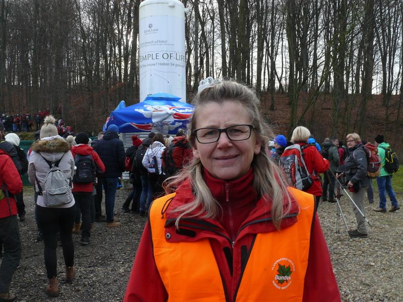Sonja Vršić na startu u Termama sv. Martin