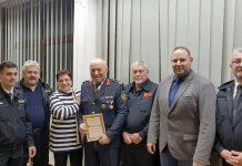 Andrija Ilijaš počasni predsjednik DVD-a Hodošan s kolegama vatrogascima iz Mađarske