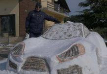 Auto od snijega Čukovec1