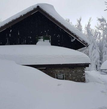 Ivanščica jako veliki snijeg