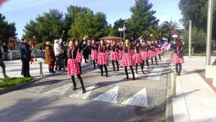 Mažoretkinje Nedelišća karneval Crikvenica