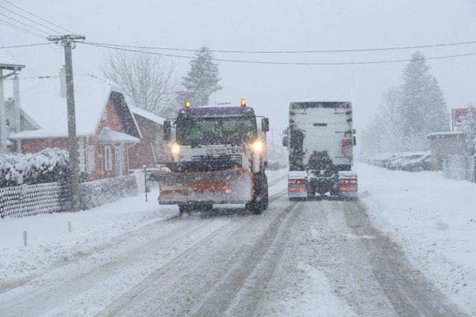 ralica snijeg čišćenje zima