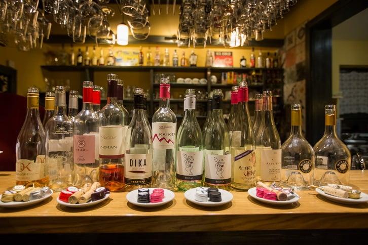 rose vina u Beški