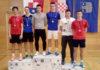 srebrni juniorski par Borna Vadlja i Luka Grubić