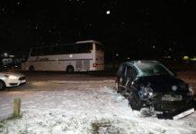 sudar autobus auto Čakovec1