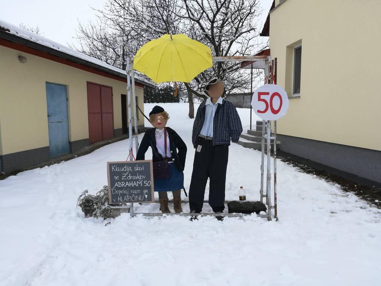 50 rođendan abraham Ovako su susjedi čestitali Zdravku Oletiću iz Hlapičine 50  50 rođendan abraham