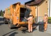 Čakom otpad smeće kamion