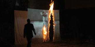 Ivan Mesek Sleep now in the fire, 2012.