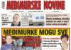 Međimurske novine - naslovnica br. 1172