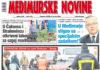 Međimurske novine - naslovnica br. 1173