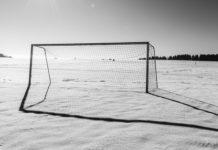 nogomet snijeg