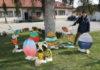 Katica Dobrovolec u uskrsnom vrtu