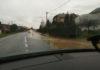 voda na cesti cesta Slemenice-Žiškovec