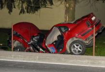 Šemovec teška prometna nesreća auto prepolovljen