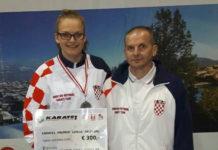 Lucija Lesjak s trenerom Kristijanom Salzburg