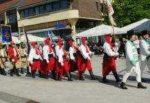 mimohod povijesnih postrojbi Čakovec