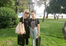 Vanessa Žužić i mentorica Valentina Fabić