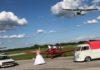 Antonio i Nikolina za svoje vjenčano fotografiranje odabrali su aerodrom Pribislavec