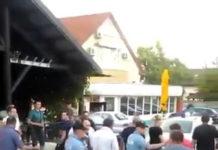Policija ispratila suce iz Strahoninca