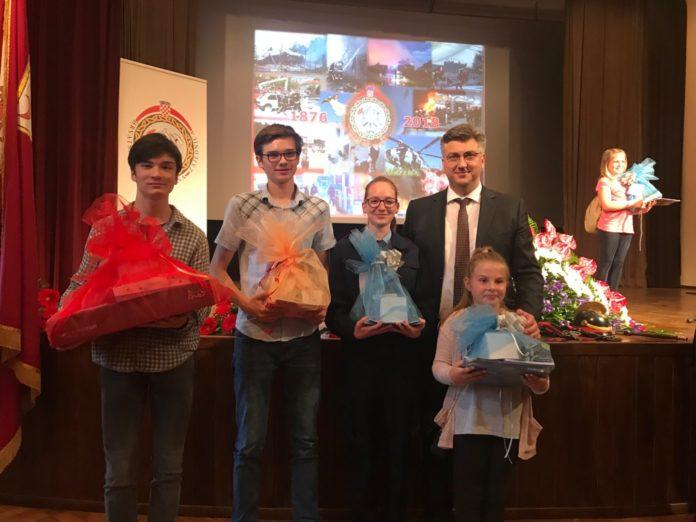 Hrvatska vatrogasna zajednica natječaj nagrađeni učenici