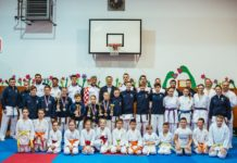 Karate klub Globus trening seniorski reprezentativci1.jpg