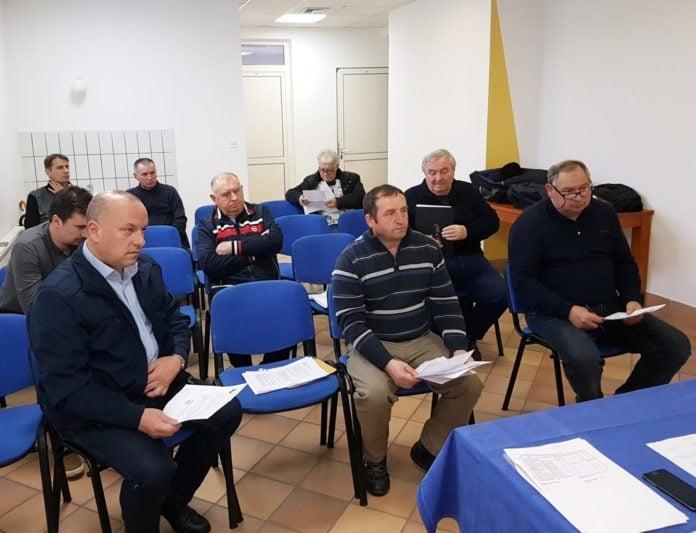 Međimurski nogometni savez Izvršni odbor