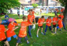 Volonteri u parku Svjetski dan nepušenja