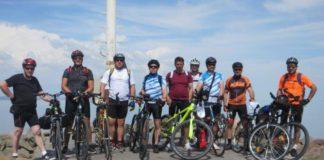 međimurski policajci Slovenci bicikliranje Mađarska 1