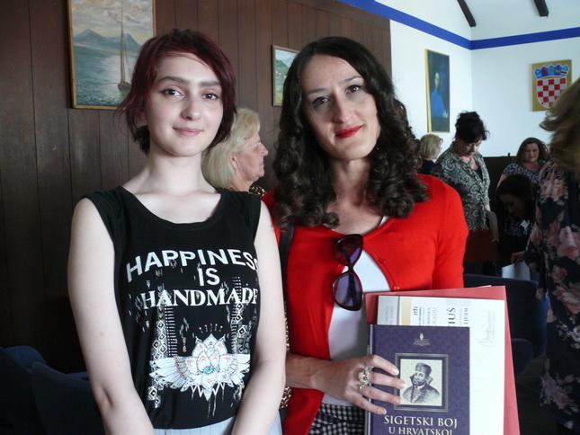 Učenica Eva Marciuš i mentorica Ana Horvat
