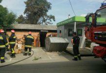 požar skladište kod Konzuma Čakovec1